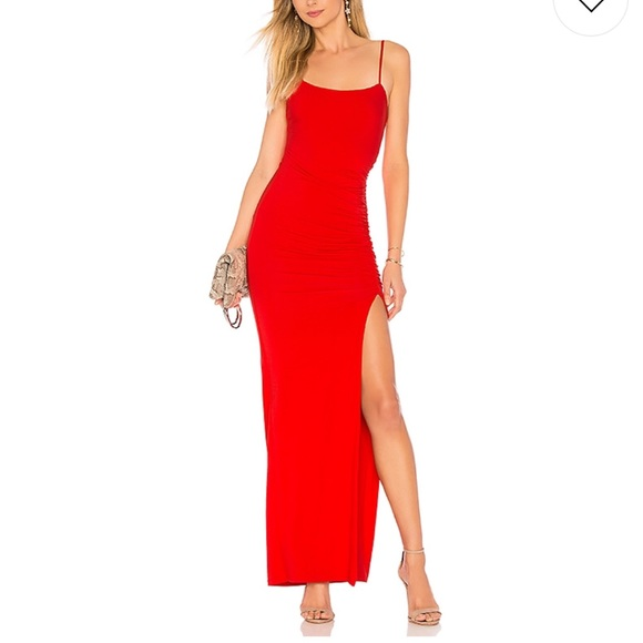 6e37d13577164 Lovers + Friends Dresses | Lovers Friends Kiki Maxi In Red Nwt ...
